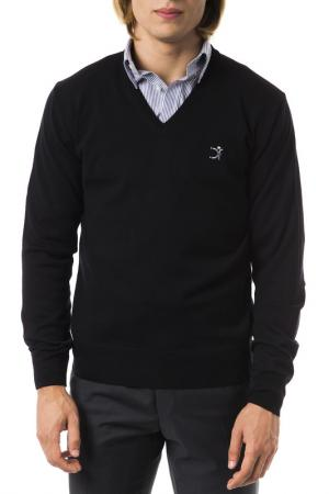 Пуловер UominItaliani. Цвет: черный