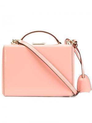 Сумка-тоут Grace Mark Cross. Цвет: розовый и фиолетовый