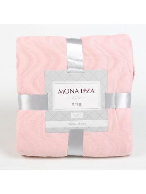 Плед Kleo 150*200 Mona Lisa Elite розовый 13-2010 Liza. Цвет: розовый