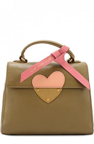 Сумка B14 In Love Coccinelle. Цвет: хаки