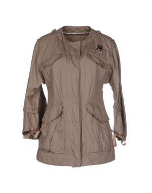 Куртка BLAUER. Цвет: голубиный серый