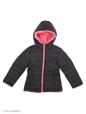 Куртка ср.синтепон Modis. Цвет: черный, розовый