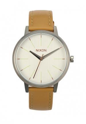 Часы Nixon. Цвет: бежевый