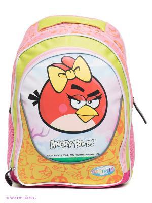 Рюкзак Angry birds Centrum. Цвет: розовый, желтый, терракотовый, салатовый
