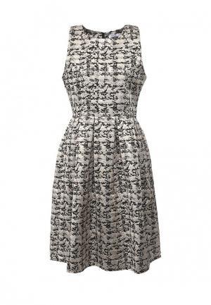 Платье Brigitte Bardot. Цвет: бежевый