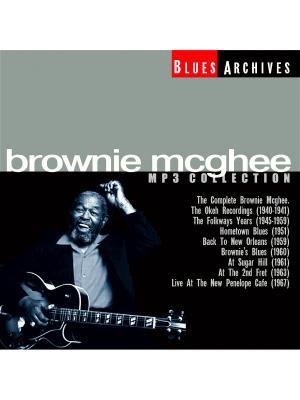 Brownie McGhee (компакт-диск MP3) RMG. Цвет: прозрачный