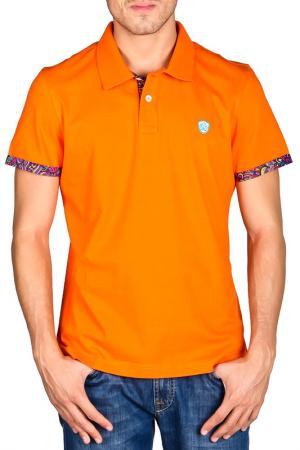 Футболка-поло Galvanni. Цвет: оранжевый