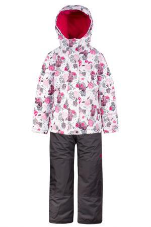 Комплект SALVE. Цвет: белый, розовый