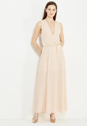 Платье Imperial. Цвет: бежевый