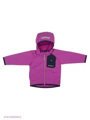 Куртка OTEGO DIDRIKSONS. Цвет: фиолетовый