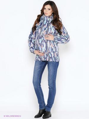 Слинго-куртка осень-зима на термофине EUROMAMA. Цвет: серый