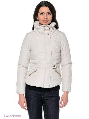 Куртка Vero moda. Цвет: молочный