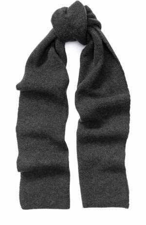 Кашемировый шарф Kashja` Cashmere. Цвет: темно-серый