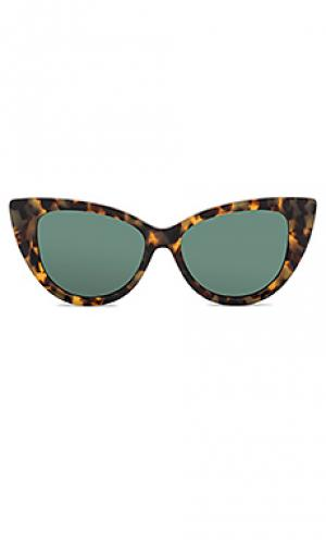 Солнцезащитные очки kyoto Sonix. Цвет: коричневый