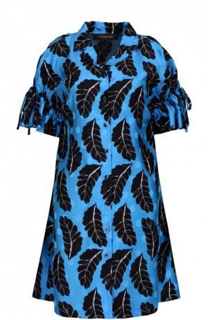 Платье Thakoon. Цвет: разноцветный