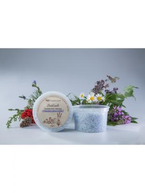 Морская соль для ванн Прованская лаванда OrganicZone. Цвет: сиреневый