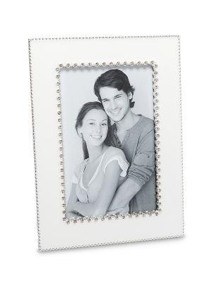 Фоторамка Мгновения любви 10*15 Bellezza casa. Цвет: серебристый