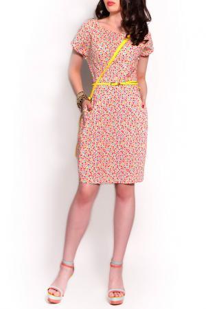 Платье MONT PELLIER. Цвет: незабудки