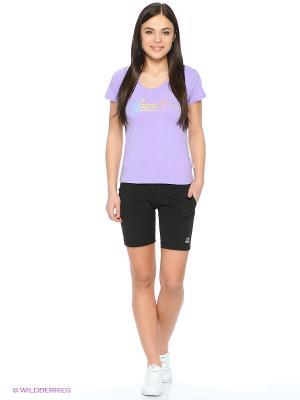 Футболка Alpine PRO. Цвет: фиолетовый