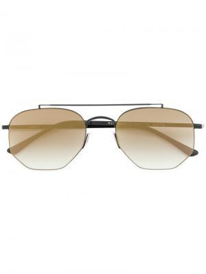 Солнцезащитные очки Andy Kyme. Цвет: чёрный