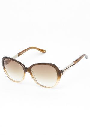 Очки солнцезащитные Laura Biagiotti. Цвет: коричневый