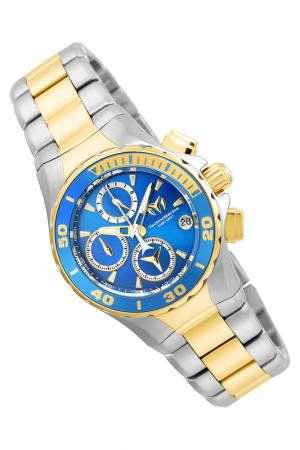 Watch TechnoMarine. Цвет: silver, gold, blue