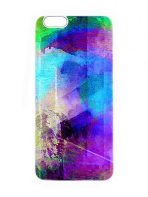 Чехол для iPhone 6 Северное сияние Chocopony. Цвет: фиолетовый, синий, темно-фиолетовый