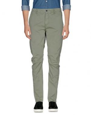 Повседневные брюки TAKE-TWO. Цвет: зеленый-милитари