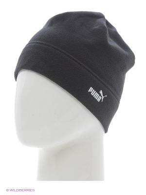 Шапка Snow fleece beanie Puma. Цвет: черный