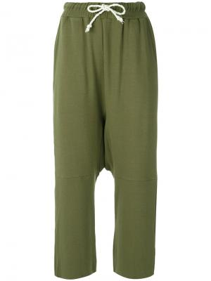 Cropped trousers Uma | Raquel Davidowicz. Цвет: зелёный