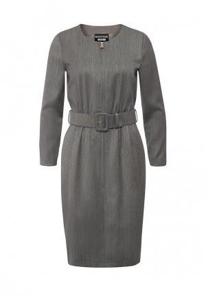 Платье Boutique Moschino. Цвет: серый