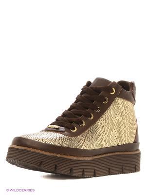 Ботинки Alpino. Цвет: золотистый