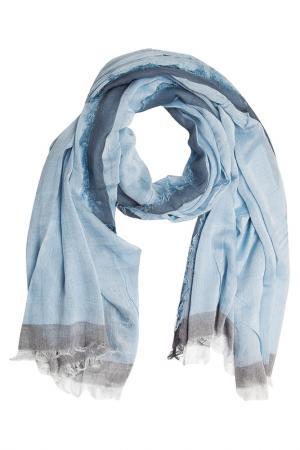 Шарф Asavi Jewel. Цвет: голубой, серый