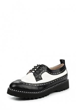 Ботинки Betsy. Цвет: черно-белый