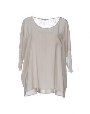 Pубашка FALCON & BLOOM. Цвет: светло-серый