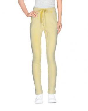 Повседневные брюки GRACE. Цвет: желтый