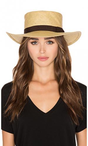 Шляпа adriana Brixton. Цвет: цвет загара