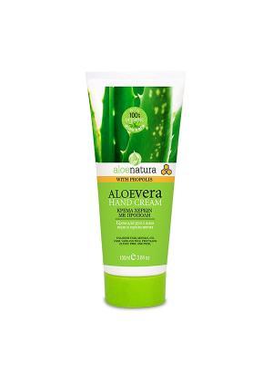 Алоэнейчер крем для рук с прополисом, 100мл Madis S.A.. Цвет: светло-зеленый