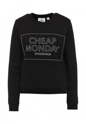 Свитшот Cheap Monday. Цвет: черный