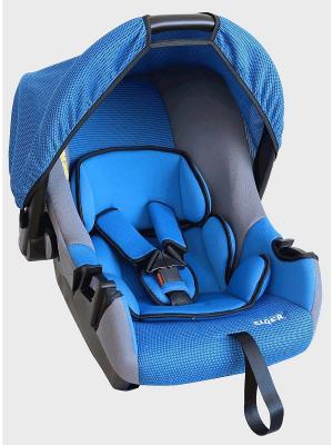Детское автомобильное кресло ЭГИДА ЛЮКС SIGER. Цвет: синий
