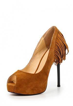 Туфли Grand Style. Цвет: коричневый