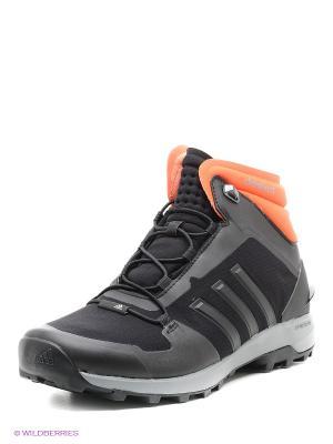 Кроссовки Ch Fastshell Mid Adidas. Цвет: черный, серый