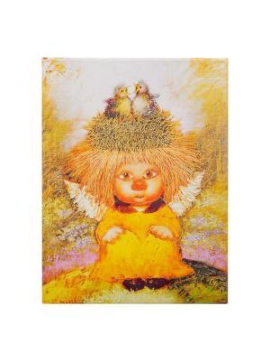 Картина Ангел семейного счастья Artangels. Цвет: желтый, белый, розовый
