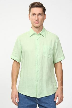 Рубашка Fiume. Цвет: зеленый