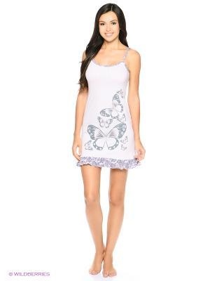 Сорочка ночная женская MARSOFINA. Цвет: розовый