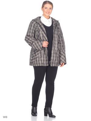 Куртка Салют VIKO. Цвет: черный, бежевый