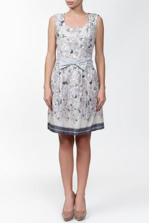 Платье Sabra. Цвет: бежевый