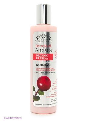 Бальзам для волос Увлажнение и уход освежающий натуральный. PLANETA ORGANICA. Цвет: розовый