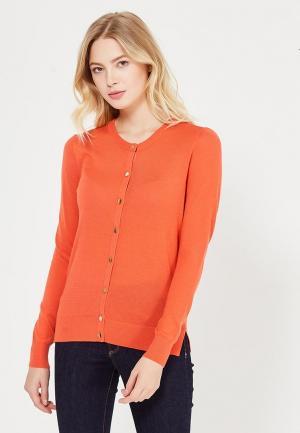 Кардиган Warehouse. Цвет: оранжевый