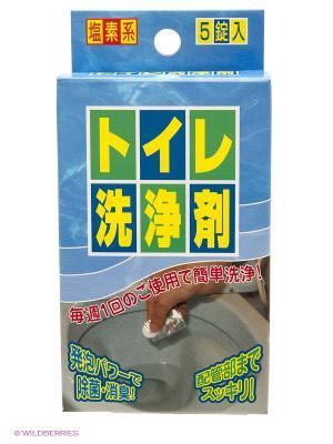 Nagara Средство для чистки туалета 4,5 гр*5. Цвет: белый